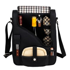 Picnic at Ascot London Wine and Cheese Carrier