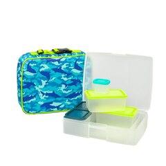Bento Box & Lunch Bag, Camo/Beach