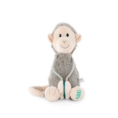 Matchstick Monkey Medium Plush, GREY