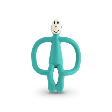Matchstick Monkey Teether Toy, Green