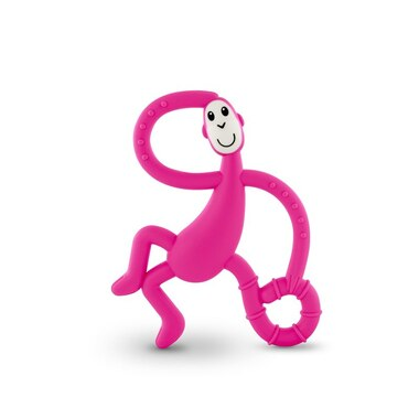 Matchstick Monkey Dancing Monkey Teether, PINK