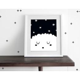 sleepy stars wall art