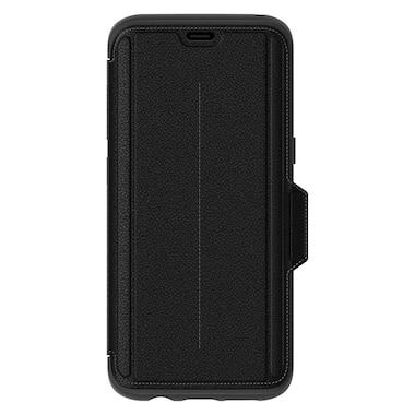 new concept b29a2 1da7d Otterbox Leather Strada Folio Case for Samsung Galaxy S8 - Onyx