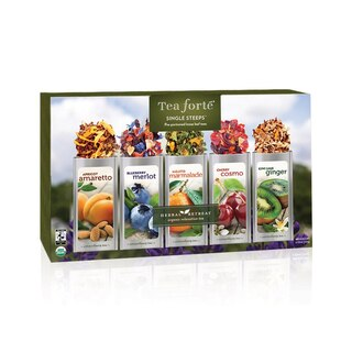 Tea Forte ® Single Steep Tea Sampler - Herbal Retreat