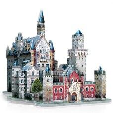 Casse-tête Wrebbit 3D - Château de Neuschwanstein (890 Pièces)