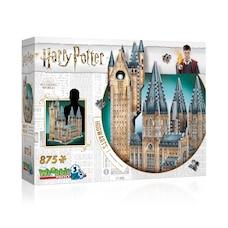 Casse-tête Wrebbit 3D - Harry Potter - Poudlard Tour d'Astronomie (875 pièces)