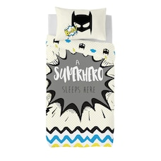 Gouchee Design Twin Duvet Cover Set Superhero 2-Piece