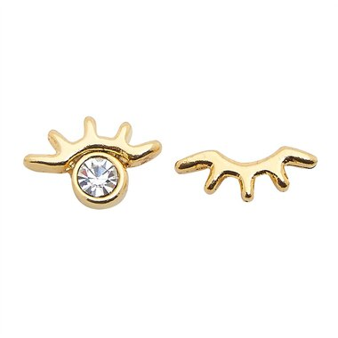 FOXY MIX AND MATCH EARRINGS - YAY GOLD