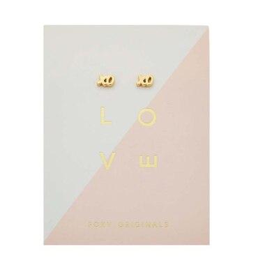 Xoxo Earrings - Gold