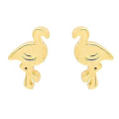 Foxy Originals® Flamingo Earrings - Gold