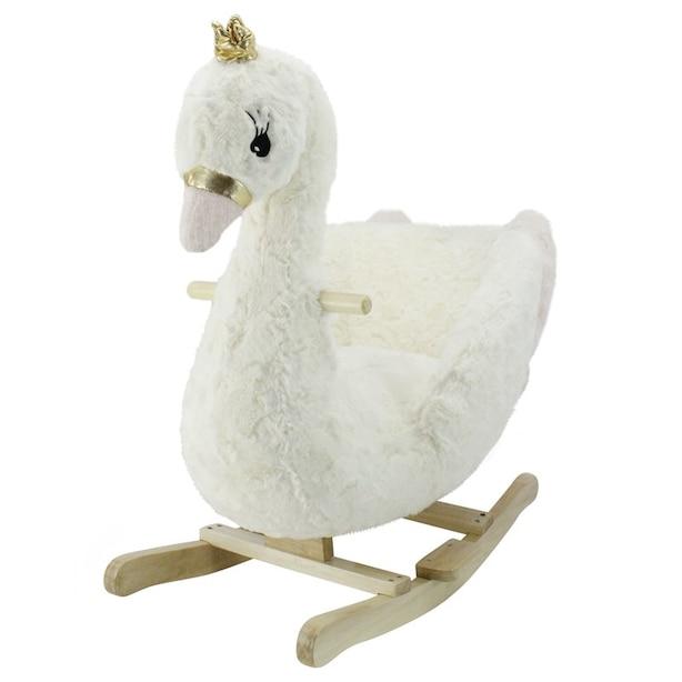 Animal Adventure Soft Landing Joyrides Rocker - Swan