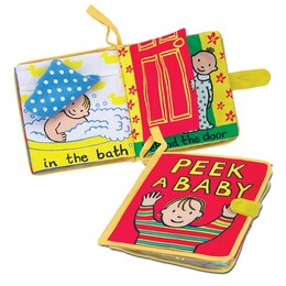 """Peek-a-Baby"" Soft Book"