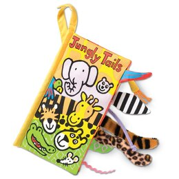 """Jungly Tails"" Soft Book"
