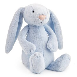 Bashful Bunny Blue with Chime Medium