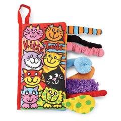 """""""Kitten Tails"""" Soft Book"""