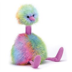 Jelly Cat - RAINBOW POM POM (MEDIUM)