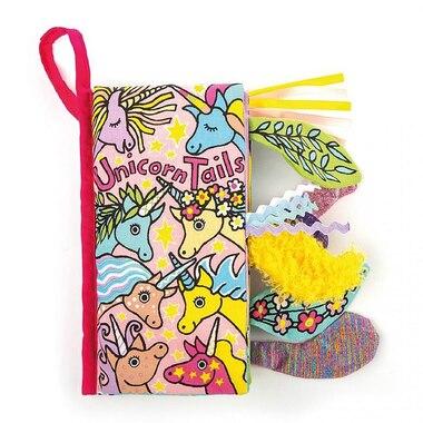 Jellycat® Soft Book Unicorn Tails