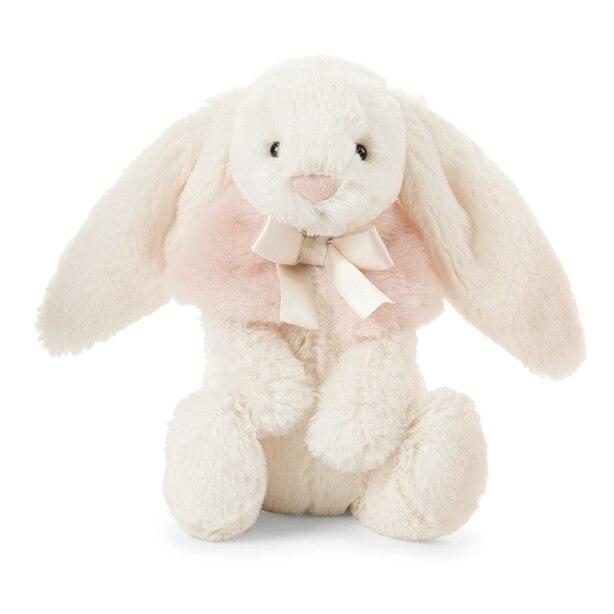 Jellycat® Bashful Snow Bunny Cream Small Plush