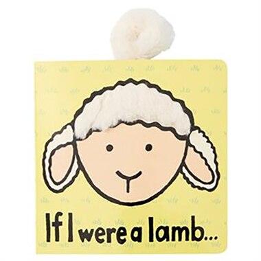 Jellycat® Textured Soft Book If I Were a Lamb