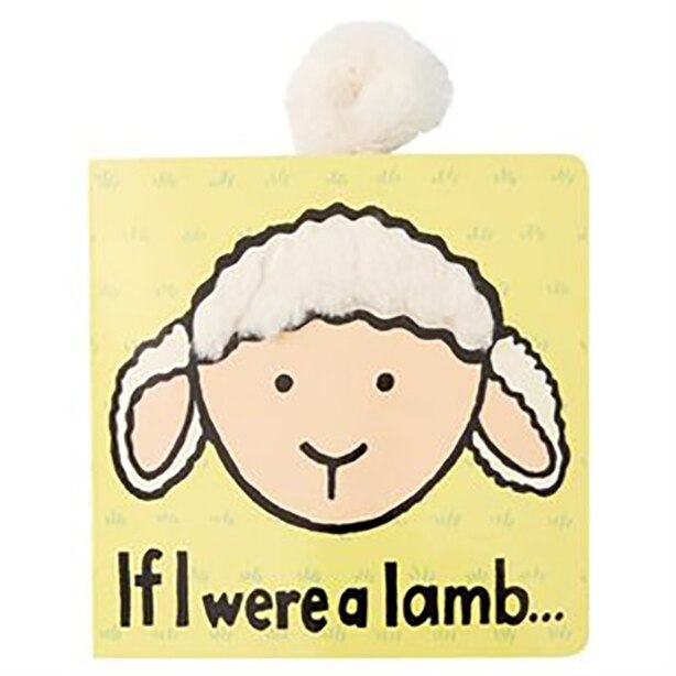 Jellycat Textured Soft Book If I Were a Lamb