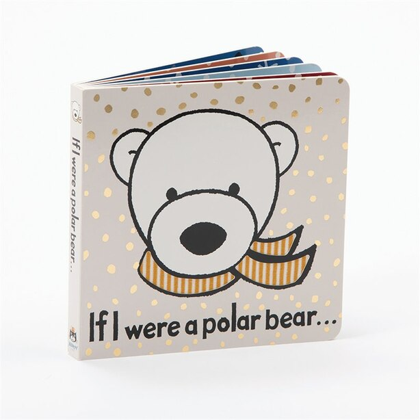 Jellycat If I Were a Polar Bear Book Plush