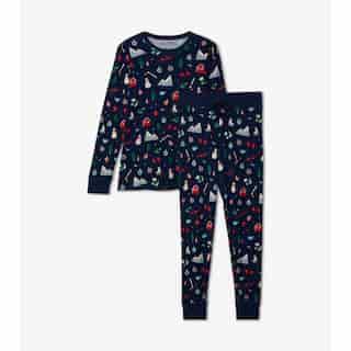 Hatley X Indigo Women'S Pajama Set - Winter Large