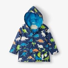 Hatley Dinos Raincoat Size 10