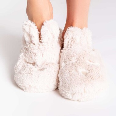PJ SALVAGE BUNNY SLIDES - FAWN, LARGE