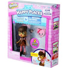 Shopkins Happy Places Single Pack Doll S2 (Ships in Randomly Assorted Styles)