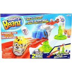 Mighty Beanz™ Collectible Racing Beans Slammer Time Race Track with Rocket Launchers and 2 Beanz
