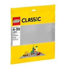 LEGO® Classic Gray Baseplate 10701