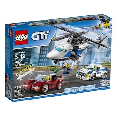 Lego City High Speed Chase 60138 By Lego Toys Chaptersindigoca