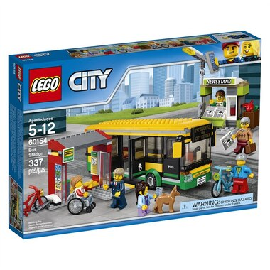 Lego City Bus Station 60154 By Lego Toys Chaptersdigo