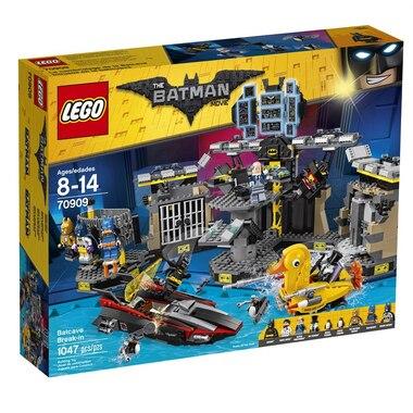 lego batman movie batcave break in 70909 by lego toys