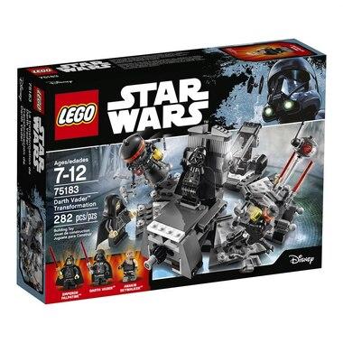 Lego Star Wars Darth Vader Transformation Lego Darth Vader