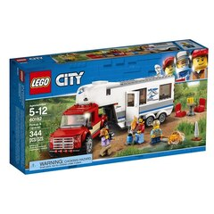 LEGO City Great Vehicles Pickup & Caravan - 60182