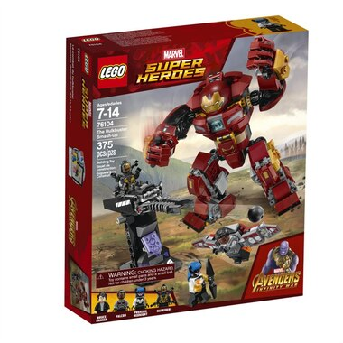 official photos 5b980 b43ac Lego® Marvel Superheroes Buildable Playset The Hulkbuster Smash-Up 76104 by  LEGO®   Toys   chapters.indigo.ca