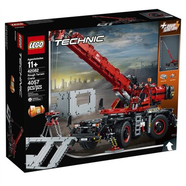 Lego Technic Rough Terrain Crane 42082 By Lego Toys Chapters