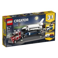 Lego® Creator™ 3-in-1 Buildable Toy Transporter Vehicle Shuttle Transporter 31091