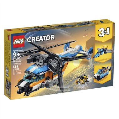 LEGO® Creator 3-in-1 Twin Rotor Helicopter 31096