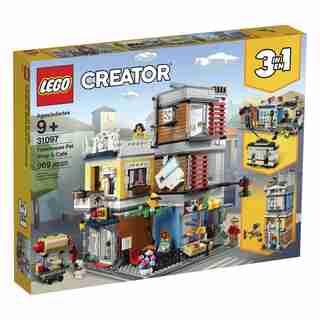 LEGO Creator L'animalerie et le café - 31097