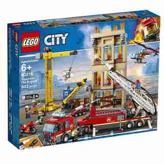 Lego® City™ Police Downtown Fire Brigade 60216