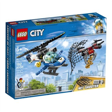 Lego City Buildable Playset Sky Police Drone Chase 60207 By Lego