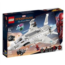 LEGO® Marvel Spider-Man Stark Jet and the Drone Attack 76130