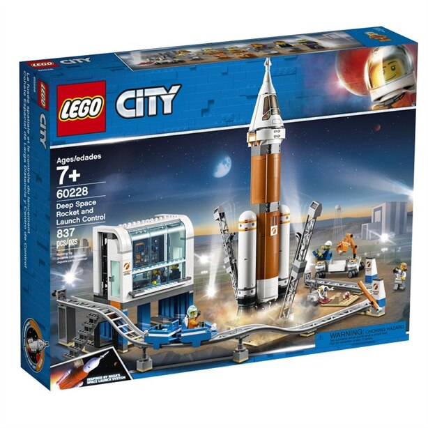 LEGO® City Space Port Deep Space Rocket and Launch Control - 60228