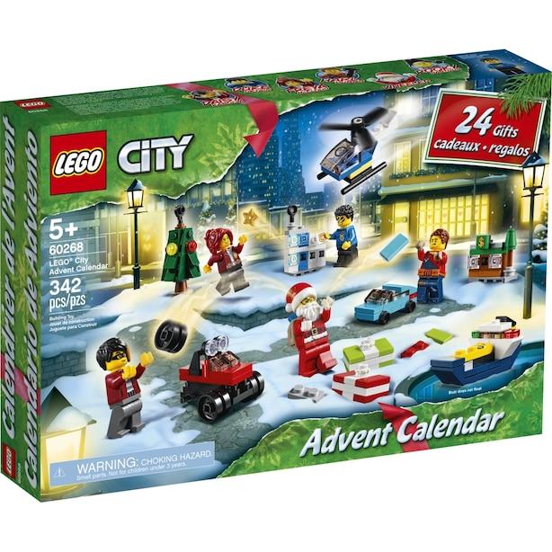 LEGO® City Le calendrier de l'Avent - 60268