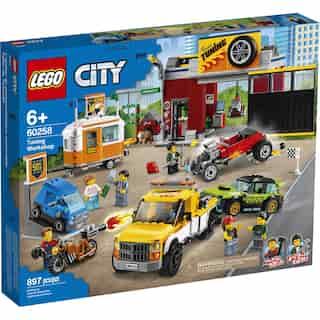 LEGO City Nitro Wheels L'atelier de tuning - 60258