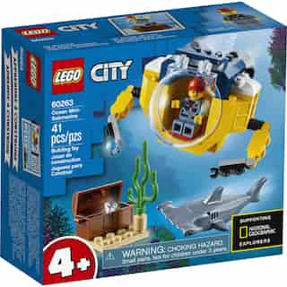 LEGO City Oceans Le mini sous-marin - 60263