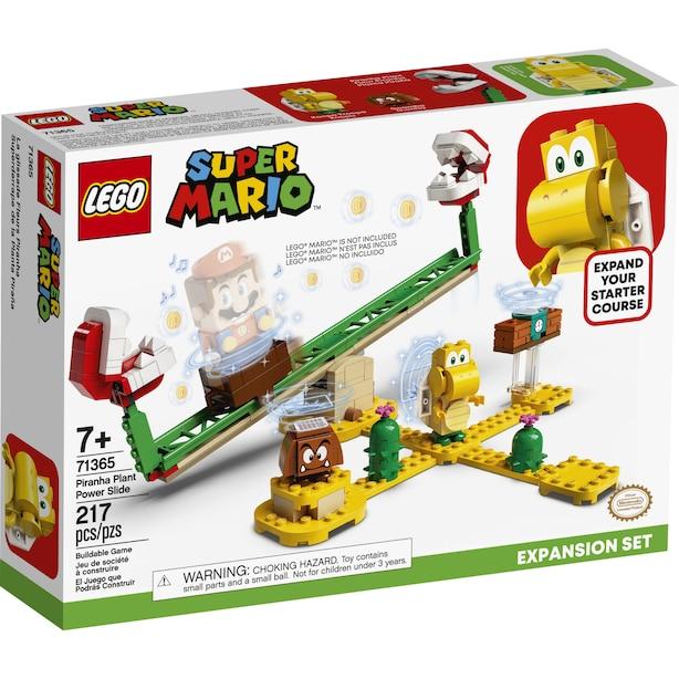 LEGO Super Mario Piranha Plant Power Slide Expansion Set - 71365