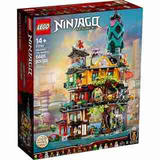 LEGO® NINJAGO® NINJAGO City Gardens - 71741
